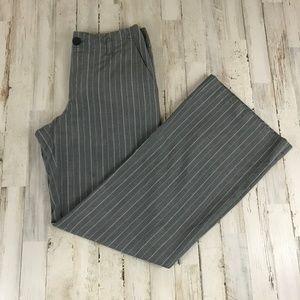 Banana Republic Pants - Banana Republic Womens Pants 6 Gray Pin Striped 10